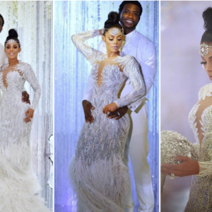 First photos from rapper Gucci Mane and Keyshia Ka'oir's lavish wedding
