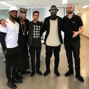 Peter Okoye signs major deal with U.S record label (Photos)