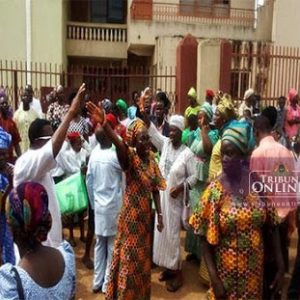 Pastor of Ajegunle Baptist Church locked out of church by members over alleged embezzlement