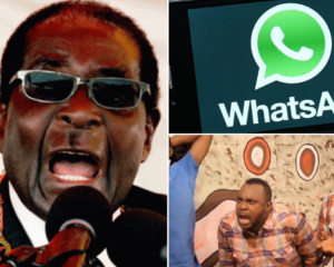President Mugabe appoints minister for 'Whatsapp and Facebook' in Zimbabwe, says WhatsApp group members should register with the ministry