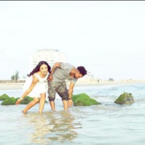 Oritsefemi and wife Nabila releases pre-wedding photos