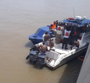 Body of man who committed suicide at Lekki-Ikoyi bridge has been found