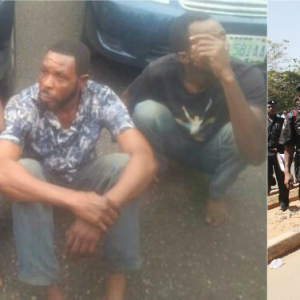 Uber drivers who follow female victims to ATM to rob them arrested in Lagos