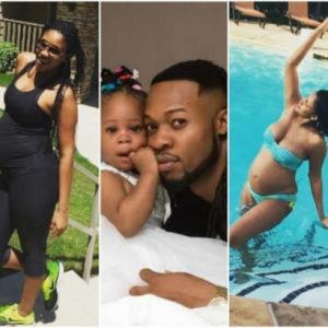 Flavour's first baby mama shares throwback photos of her pregnancy days