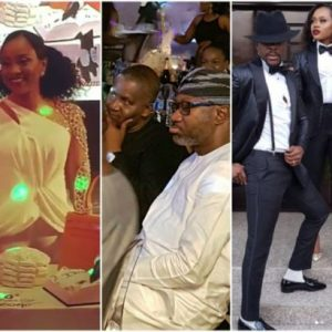 Photos of Dangote, Otedola, Ebuka Uchendu and wife at Ifeoma Williams' Michael Jackson themed 40th birthday party