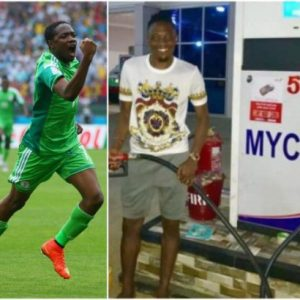Footballer Ahmed Musa opens a Filling Station in Kano (photo)
