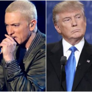 We hate you! – Eminem blasts Donald Trump in blistering freestyle at BET awards