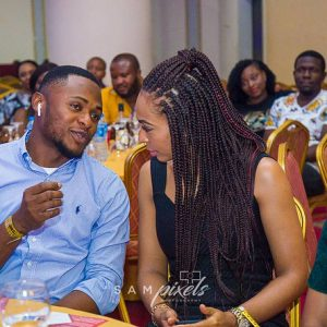 Ubi Franklin under fire for sharing pictures with Tboss (Photos)