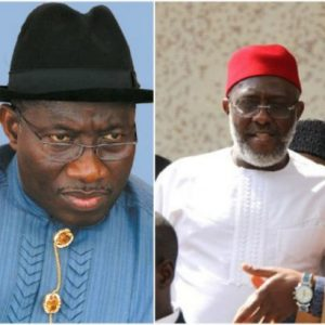 'Deposit N1billion and I'll testify' -Ex-President Jonathan tells Metuh