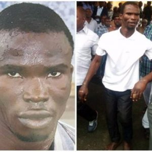 Police commissioner gives N1m to man who gave info that led to ritualist Ifeanyi Dike's re-arrest (Photos)