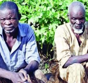 80-year-old man and his son flog his 100-year-old mother to death