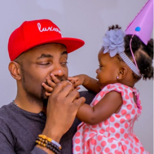 Beautiful photos of Ebuka Obi-Uchendu's daughter on her first birthday