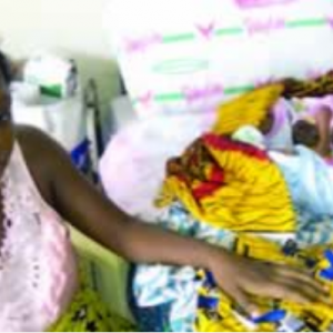 Undergraduate gives birth to a set of triplets in Calabar