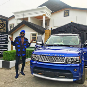 Swanky Jerry shows off his brand new Range Rover and 6 businesses mansion