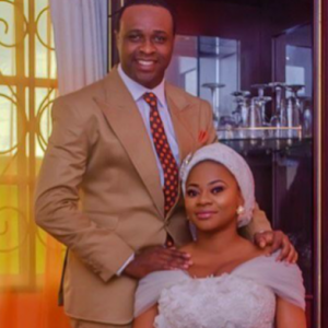 Actor Femi Adebayo's 1-year-old 2nd marriage reportedly in crisis, wedding photos deleted, wife unfollows him