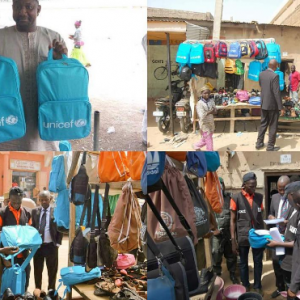 Stolen UNICEF bags meant for IDPs being sold in Kano recovered