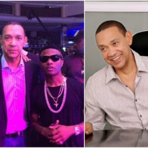 Ben Bruce reacts to Wizkid winning the 'Best international act' at the MOBO awards