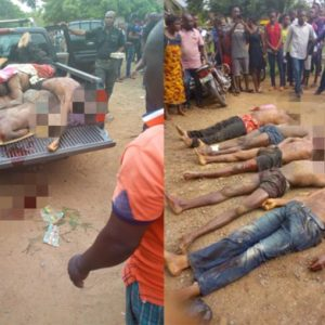 Police shoot 5 kidnappers dead this morning in Cross River, rescue victim (Photos)