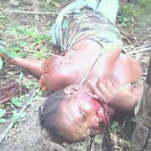 Man allegedly murders his girlfriend in Liberia after she called off their relationship (Graphic photo)