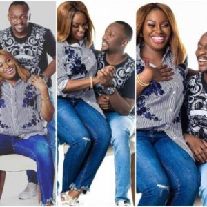 Ushbebe and wife Annette celebrate 4th wedding anniversary (Photos)