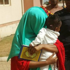 Killer wife, Maryam Sanda in tears as she is remanded in prison today (Photos)