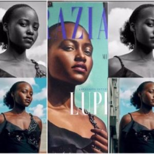 Lupita Nyong'o slams Grazia Magazine for photoshopping her hair