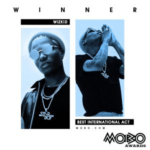 "2017 MOBO Awards: Wizkid becomes the first African artist to win ""Best International Act"", Davido wins Best African Act"
