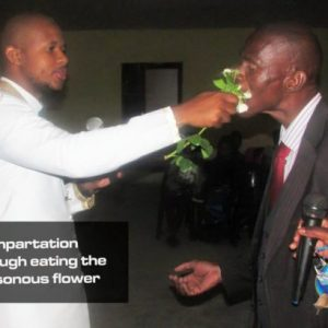 South African Pastor Penuel Mnguni gives worshipers cockroach and poisonous flower to eat (photos)