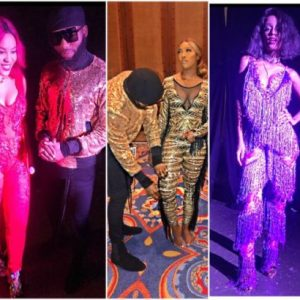 Tiwa Savage , Emma Nyra, and Vanessa Mdee all styled by Swanky Jerry for one Africa music fest Dubai (photos)