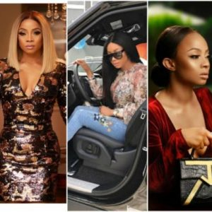 """Leave our father alone"" — Children of Billionaire Festus Fadeyi warn Toke Makinwa"