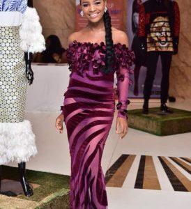 Tinsel actress, Tomi Odunsi stuns in see through dress (Photos)