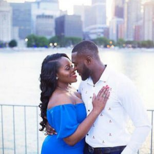 Former Mr Nigeria Kenneth Okolie releases pre-wedding photos