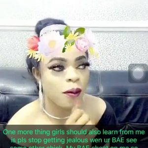 Don't Leave Your Man If He Cheats, My Bae Cheats All The Time -Bobrisky