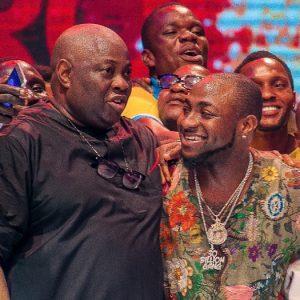 Photos : Davido And Dele Momodu Finally Make Peace