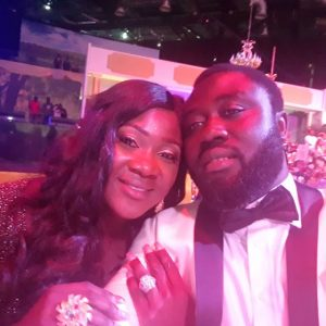 Photos : Mercy Johnson And Husband At Pastor Chris Oyakhilome's 54th Birthday Dinner