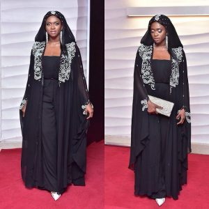 Waje Shares Beautiful Pics In Arabian Attire