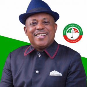 Newly Elected PDP Chairman Secondus Serves Buhari Quit Notice