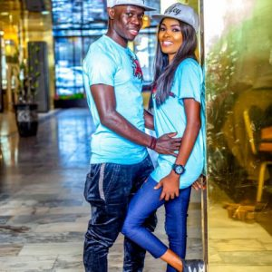 Pre-wedding photos of ex beauty Queen Simi and Nigeria football star Daniel Etor