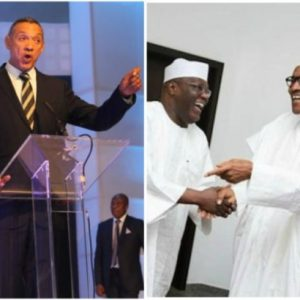'Atiku is Nigeria's next President, we have Pres. Buhari's retirement package'-Ben Bruce