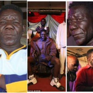 William Masvinu wins his Zimbabwe's 'Mr Ugly' title for the fourth time