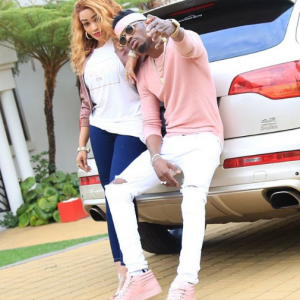 """Diamond Platnumz Sends A Clear Message To His """"side chick"""""""