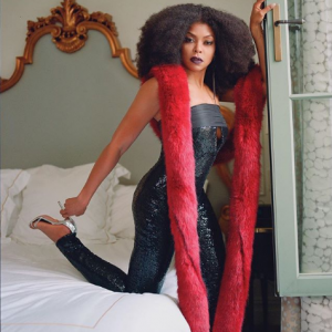 Photos : Taraji P Henson Looks Stunning And Beautiful For Iris Covet Book