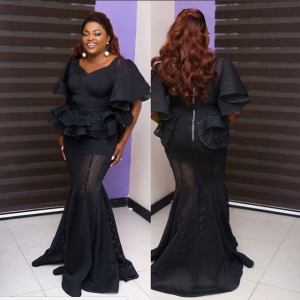 Photos : Funke Akindele Looks Stunning At TFAA 2017