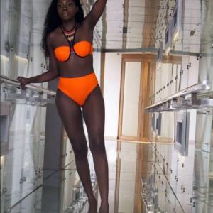 Beverly Osu Shows Off Her Figure In Bikini