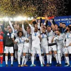 Real Madrid Is The World Club Champion For The Third Time In 4 Years