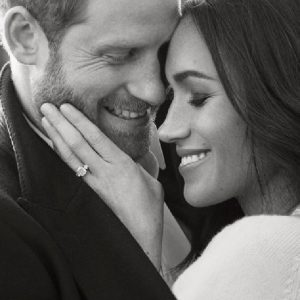Prince Harry And Meghan Markle Releases Loved Up Photos