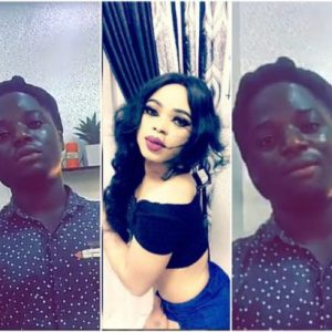Meet Bobrisky's New Gate-Man, Titus
