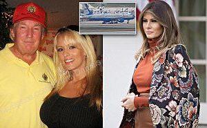 Melania Trump Staying In DC Hotel Following Trump's Alleged Porn Star Fling