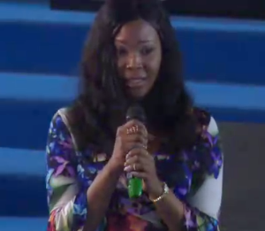 Video : Stephanie Otobo Visits Apostle Suleman's Church, Confesses She Was Paid Heavily By Some Politicians To Tarnish His Image