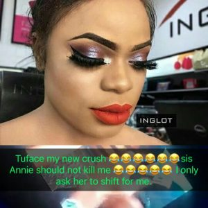 Bobrisky Declares 2Face Idibia His New Crush